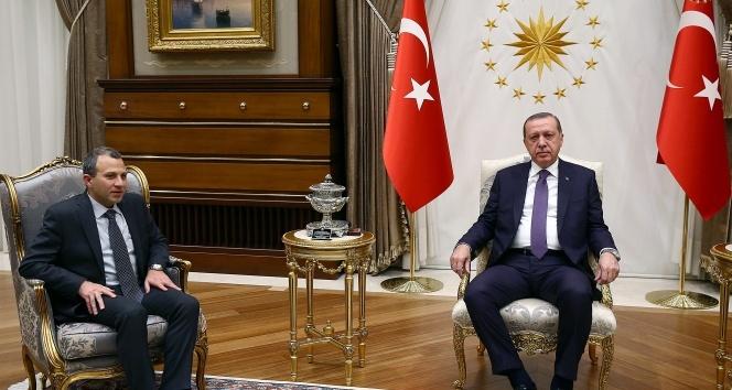 Cumhurbaşkanı Erdoğan, Lübnan Dışişleri Bakanını kabul etti
