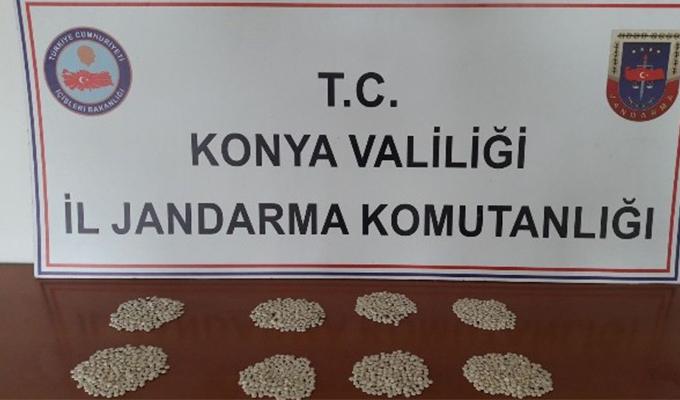 Konya Haber: Konya'da  Jandarmadan uyuşturucu operasyonu