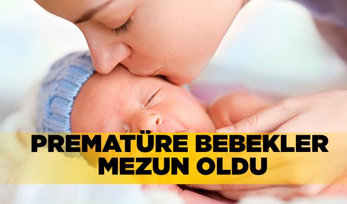 Konya Haber:  Prematüre bebekler mezun oldu