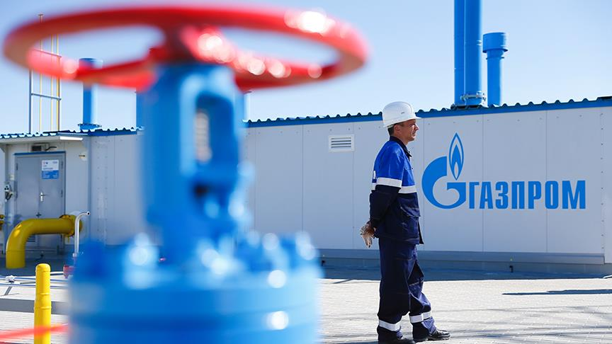 Gazprom'un TürkAkım rotasındaki ülkelere doğalgaz ihracatı arttı