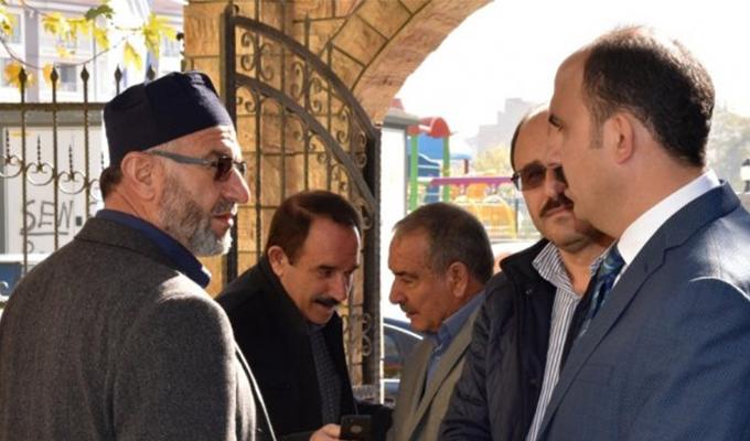 Konya Haber:  Başkan Altay Cuma Sonrası Vatandaşlar İle Buluştu