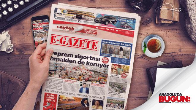 E-Gazete Konya Haber | Mobil Haber Konya | E-Gazete Oku Konya e Haber Konya| Anadolu'da Bugün 18-11-2017 e Gazete Konya #KonyaHaber