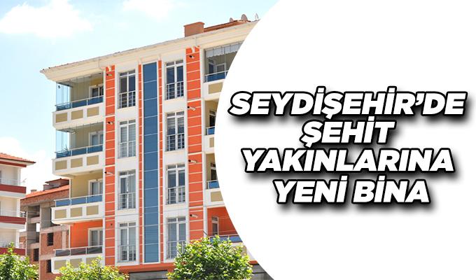 Konya Haber:  Konya Seydişehir'de şehit yakınları ve gazilere yeni bina