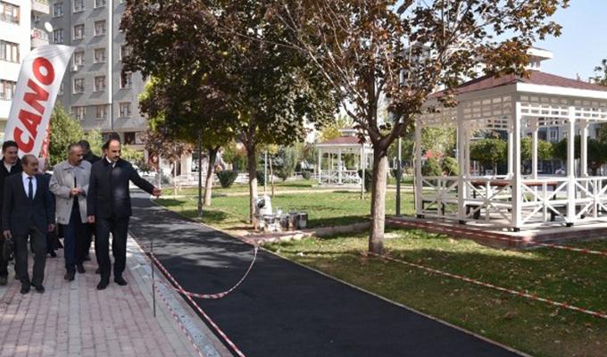 Konya Haber:  Konya Selçuklu'da Nene Hatun Parkı yenileniyor