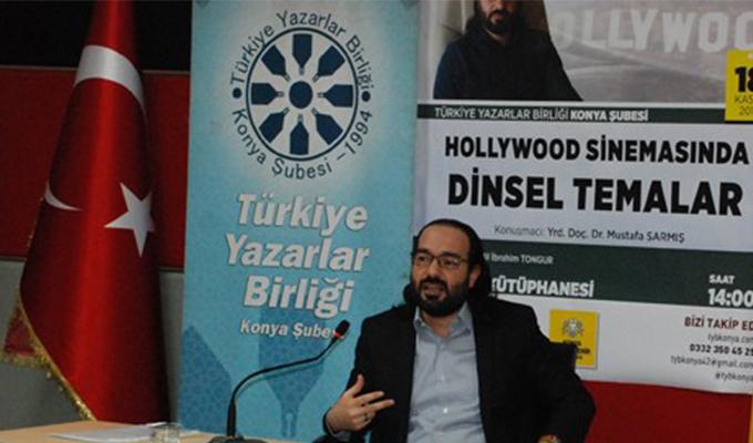 """Konya Haber:  TYB'de """"Hollywood sinemasında dinsel temalar"""" konuşuldu"""