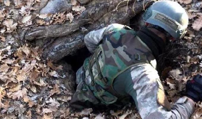 Asker Tunceli'de böyle buldu!
