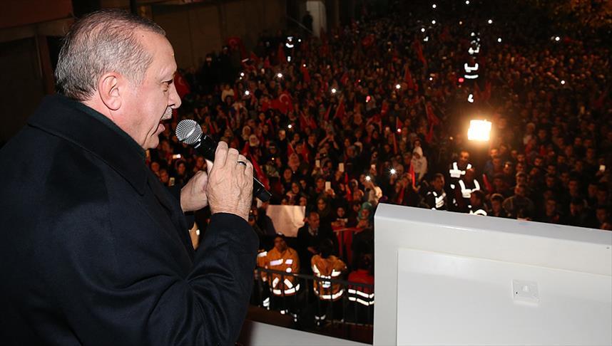 Cumhurbaşkanı Erdoğan: 2019'da bir reform gerçekleştireceğiz
