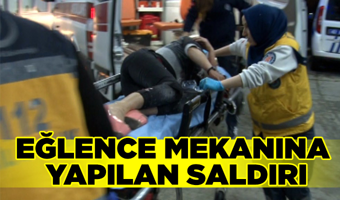 Konya Haber:  Konya'da eğlence mekanına yapılan saldırıda boynundan yaralandı
