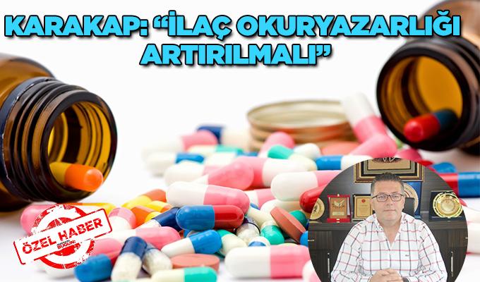 """Konya Haber:  Cemil Karakap: """"İlaç okuryazarlığı artırılmalı"""""""