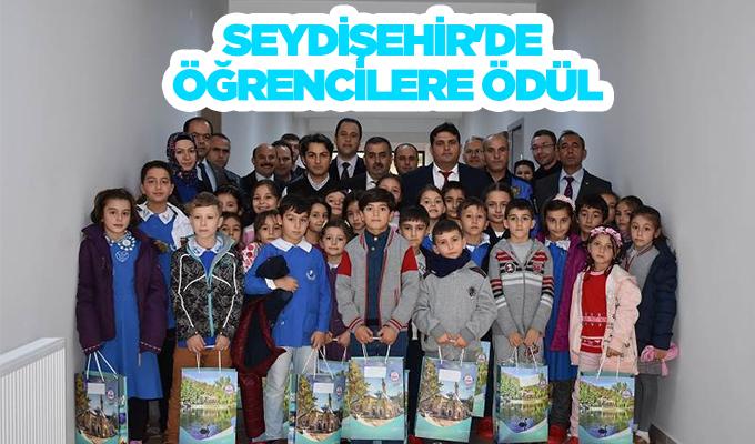 Konya Haber:  Konya Seydişehir'de öğrencilere ödül
