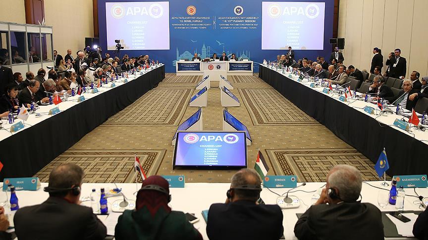 APA 10. Genel Kurulu İstanbul'da başladı