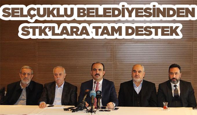 Konya Haber: Selçuklu Belediyesinden STK'lara Tam Destek