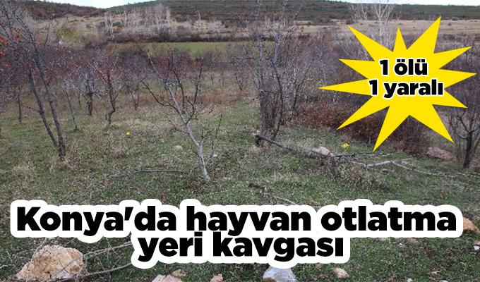 KonyaHaber: Konya'da hayvan otlatma yeri kavgası: 1 ölü, 1 yaralı