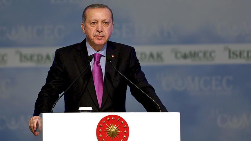 Cumhurbaşkanı Erdoğan: İslam'ın birliğini yok etmeye yönelik kirli bir senaryo uygulanıyor