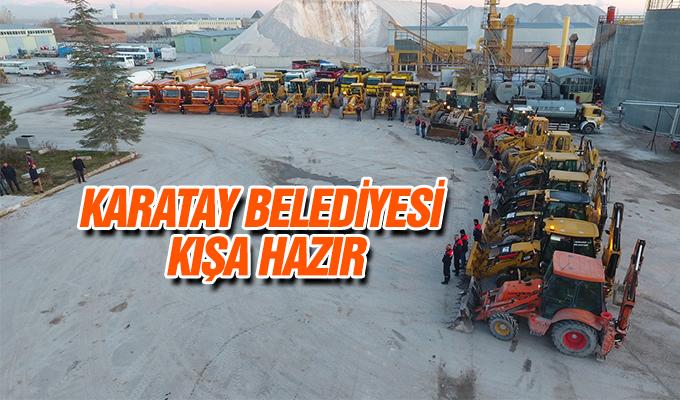 Konya Haber:  Konya Karatay Belediyesi Kışa Hazır