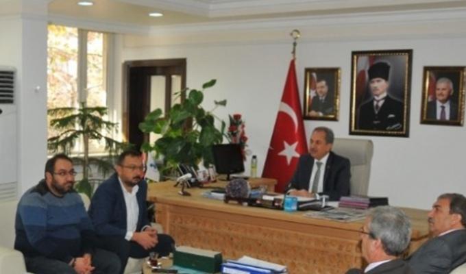 Konya Haber:  Konya Akşehir Belediyesi'nde kış tedbirleri toplantısı
