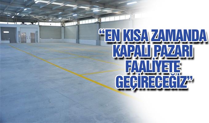 """Konya Haber:  Başkan Özgüven: """"En kısa zamanda kapalı pazarı faaliyete geçireceğiz"""""""