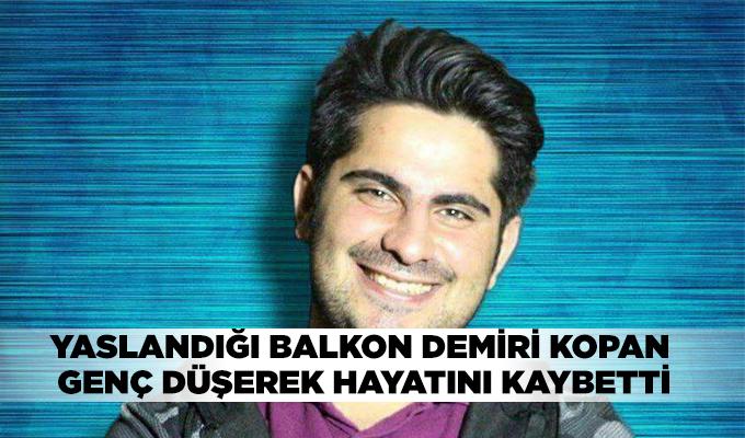 Konya Haber:  Konya'da yaslandığı balkon demiri kopan genç düşerek hayatını kaybetti
