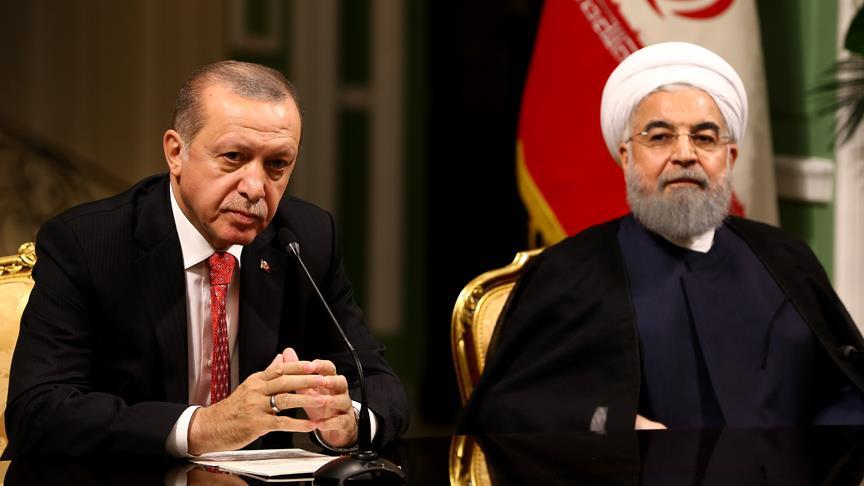 Erdoğan Ruhani görüşmesi başladı