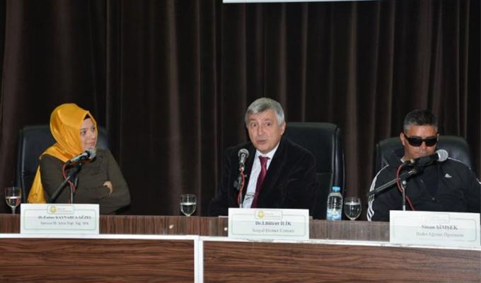 Konya Haber:  Konya Selçuk Üniversitesi'nde engelsiz hayat