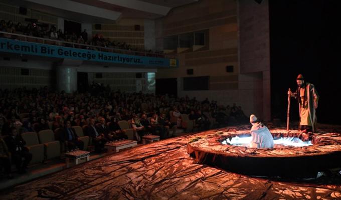 """Konya Haber:  Konya'da """"Bir Yunus Hikayesi"""" tiyatro oyununa yoğun ilgi"""
