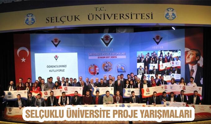 Konya Haber:  Konya Selçuklu Üniversite Proje Yarışmaları'nda Selçuk Üniversitesi'ne birincilik ödülü