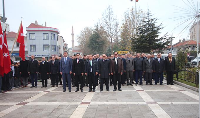 Konya Haber:  Konya Beyşehir'de 24 Kasım Öğretmenler Günü kutlaması