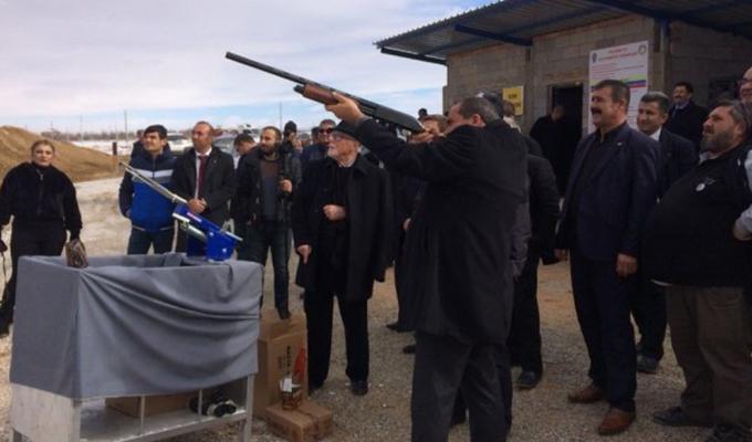 Konya Haber:  Ereğli Polis Mesleki Eğitim Merkezinin yeni atış poligonu açıldı
