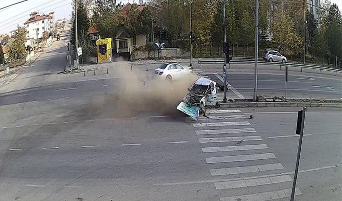 Karaman'da Trafik Kazası