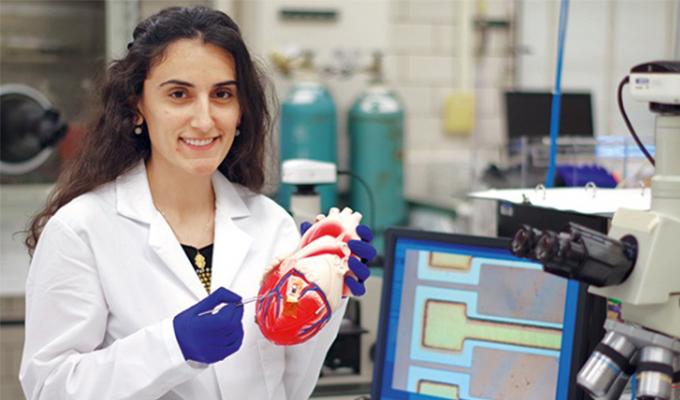 Dünyaya parmak ısırtan Türk kızı, insan enerjisi ile çalışan kalp pili yaptı
