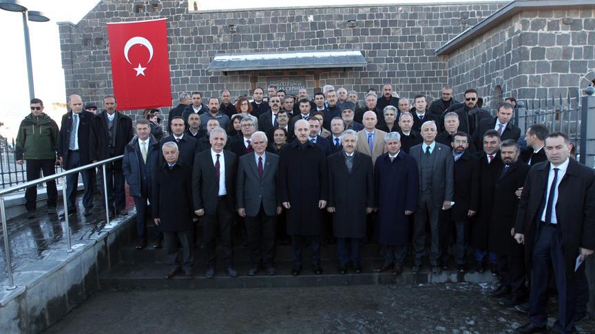 Kafkas Cephesi Harp Tarihi Müzesi açıldı