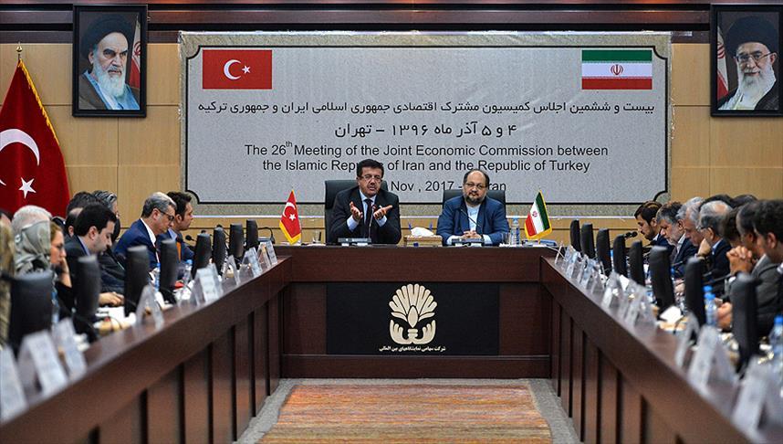Türkiye-İran 26. KEK Toplantısı Tahran'da yapıldı