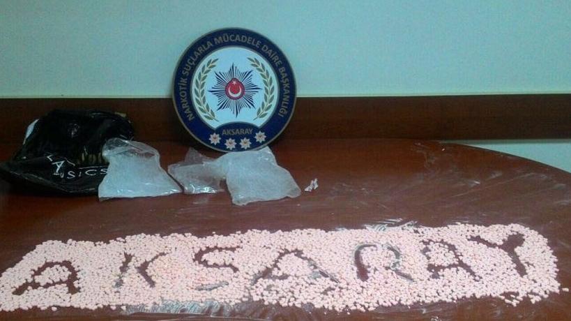 Aksaray'da uyuşturucu operasyonu