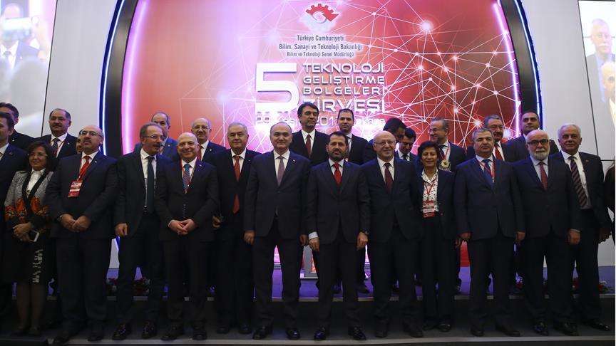 Türkiye'nin en başarılı teknoloji geliştirme bölgeleri belli oldu