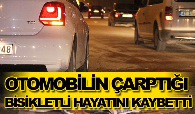 Konya Haber: Konya'da otomobilin çarptığı bisikletli hayatını kaybetti