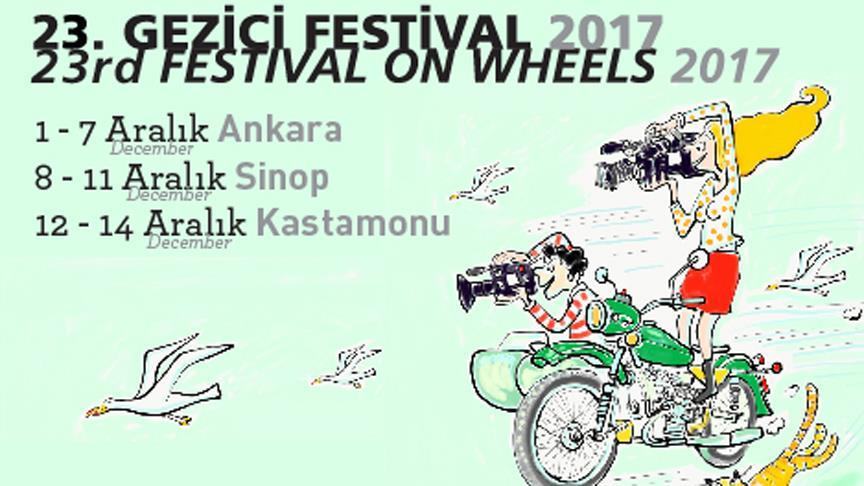 'Gezici Festival' yarın başlıyor