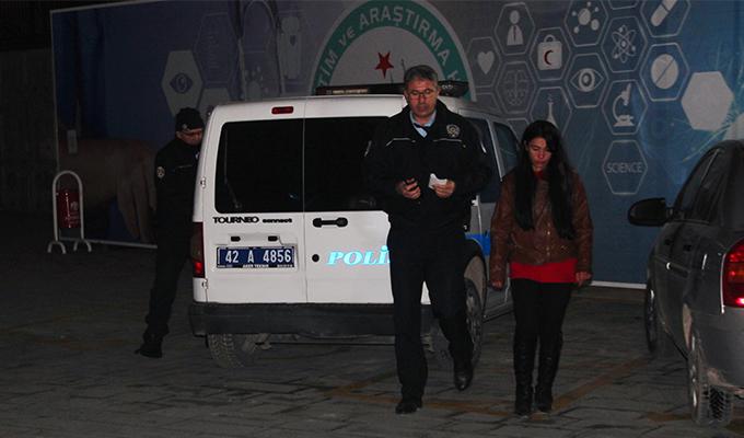 Konya Haber:  Kamyonete aldıkları kadını gasp ettiler