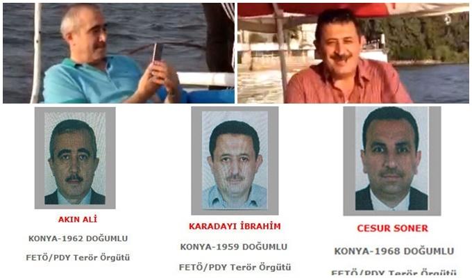 Konya Haber:  Gri listedeki FETÖ'cüler Mısır'da teknede eğlenirken görüntülendi