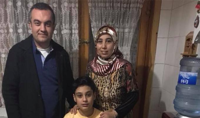 Dönmez oğlunun yaş gününü kutladı