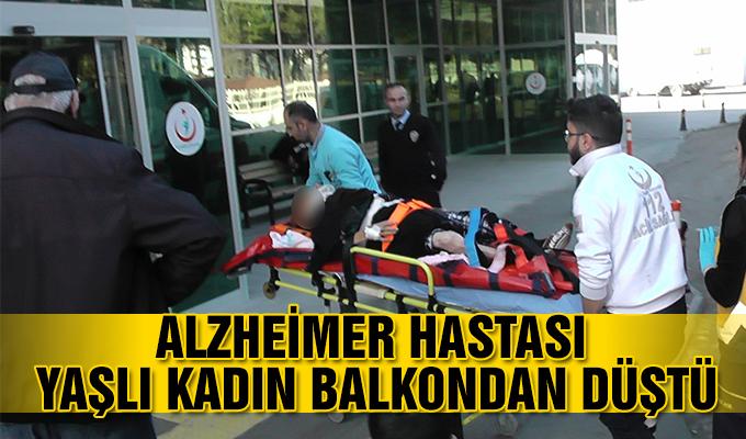 Konya Haber:  Alzheimer hastası yaşlı kadın balkondan düştü