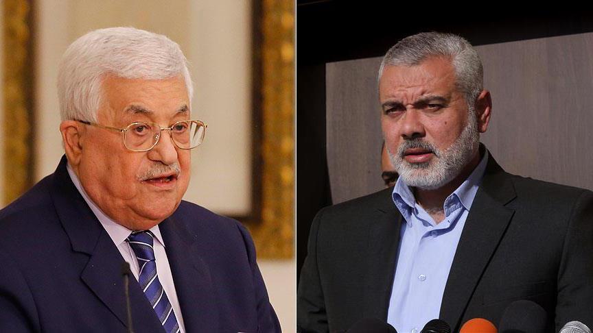 Filistin Devlet Başkanı Abbas, Heniyye ile görüştü