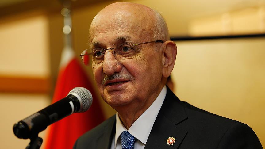 TBMM Başkanı Kahraman: Türkiye'nin önünü kesmek isteyen mihrakların ekmeğine yağ sürmeyelim