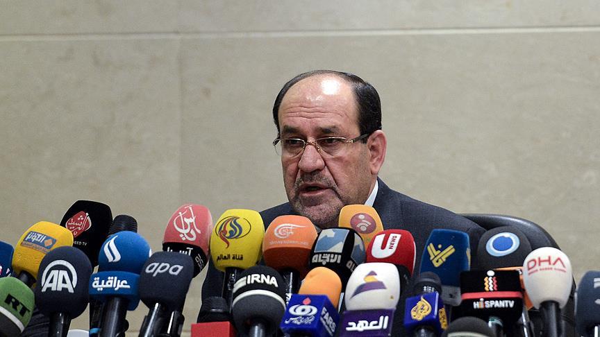 Maliki'den Macron'un Haşdi Şabi açıklamasına tepki