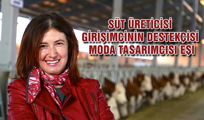 Konya Haber:  Süt üreticisi girişimcinin destekçisi moda tasarımcısı eşi