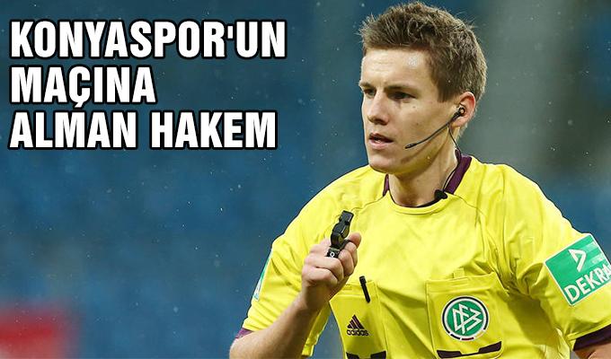 Konyaspor'un maçına Alman hakem