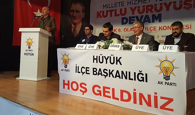 Konya Haber:  AK Parti Hüyük ve Derebucak'ta ilçe kongreleri
