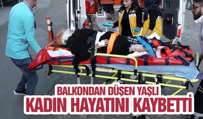 Konya Haber:  Balkondan düşen yaşlı kadın hayatını kaybetti