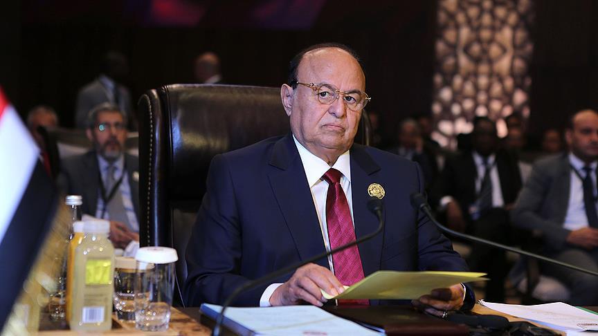 Yemen Cumhurbaşkanı Hadi BM Temsilcisiyle görüştü