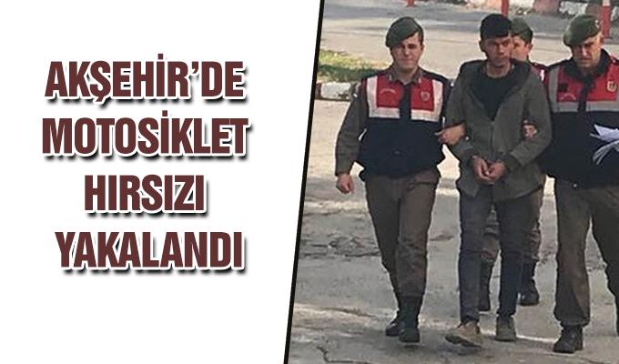 Konya Haber: Konya Akşehir'de motosiklet hırsızı yakalandı