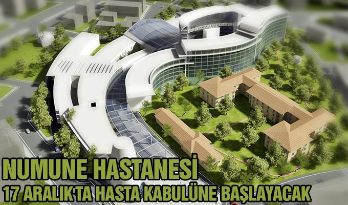 Konya Haber: Konya Numune Hastanesi 17 Aralık'ta hasta kabulüne başlayacak